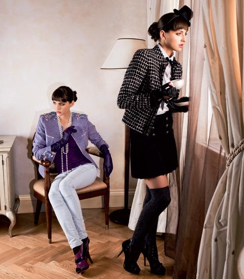 Kostým Chanel  Oblékněte eleganci – Dáma.cz 8d6fc369384