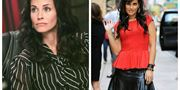 Courteney Cox  & Nelly Furtado